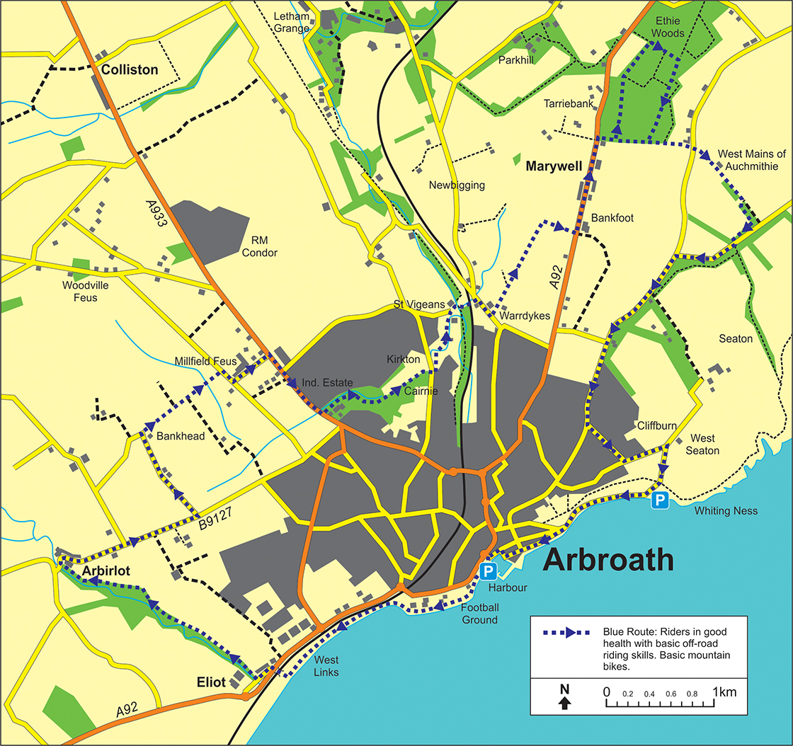 Arbroath Map