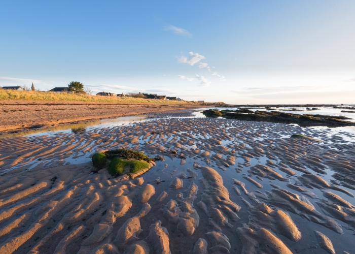 Carnoustie Bay, Angus, Scotland