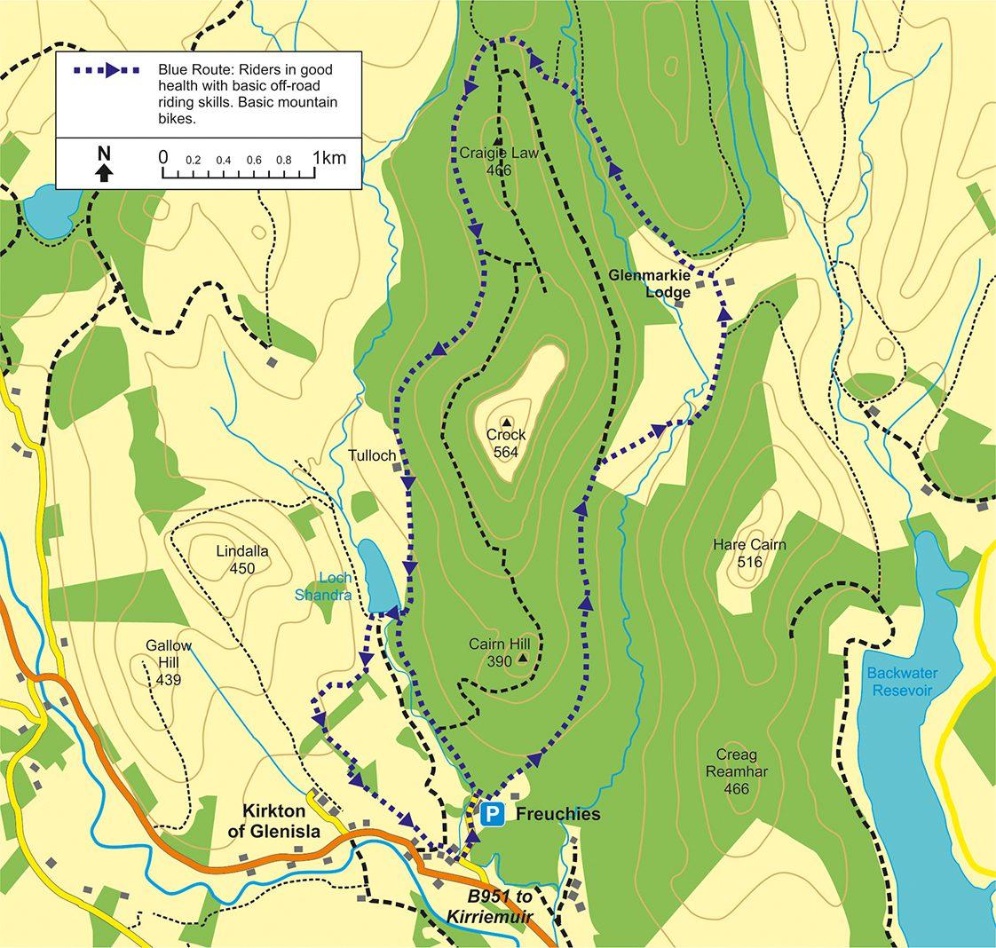 Glen Isla And The Cateran Trail