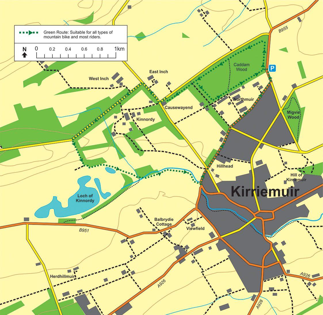 Kirrie Map