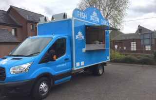 M&G's on the Road fish and chip van