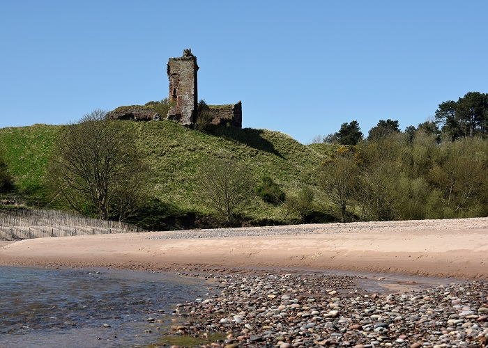 Lunan Bay Red CastleAndy Thompson Photography for Angus Council.