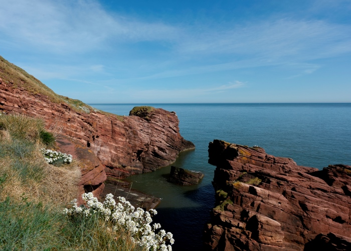 Seaton Cliffs, Arbroath