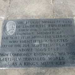 Sir Hugh Munro slab
