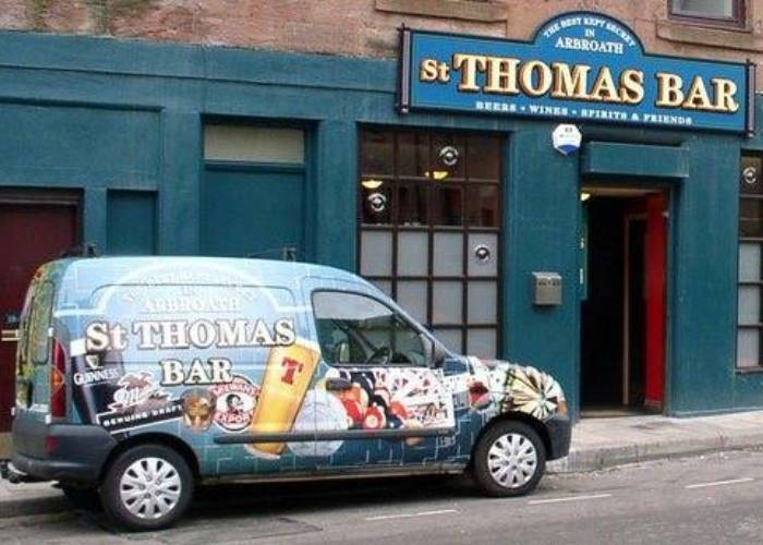 St Thomas Bar, Arbroath