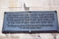 TOWN AND COUNTY PLAQUE FORFAR