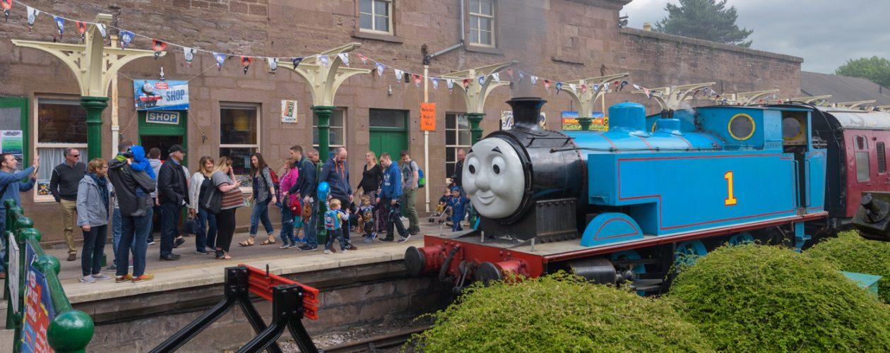Caledonian Railway, Brechin, Angus, Scotland
