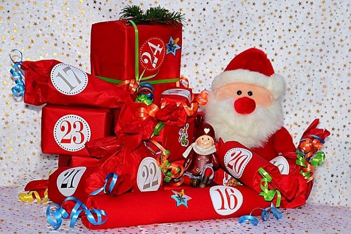 Santa with Parcels