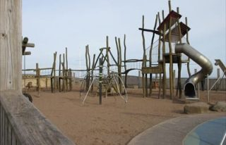 Sandy Sensation play park, Carnoustie