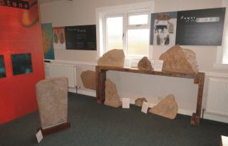 The Pictish Room, Aberlemno Village Hall