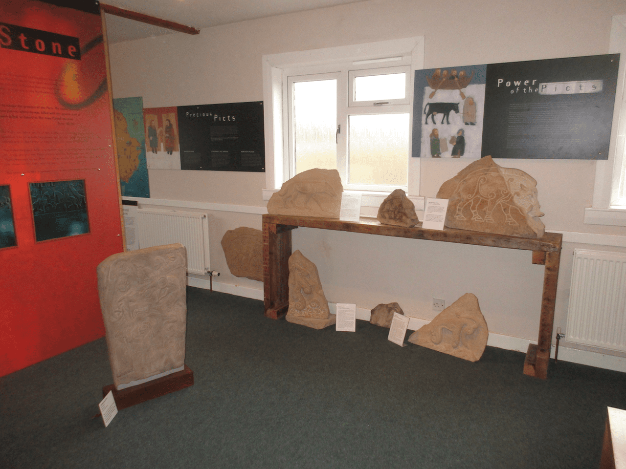 The Pictish Room, Aberlemno Village Hall