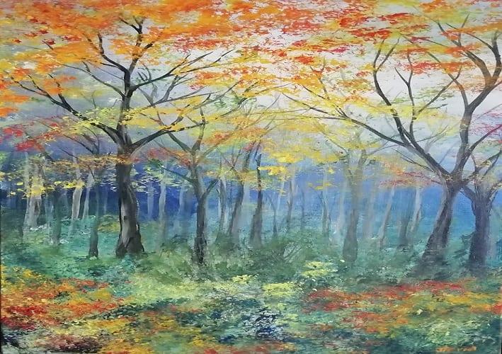 Jenny Moran Painting