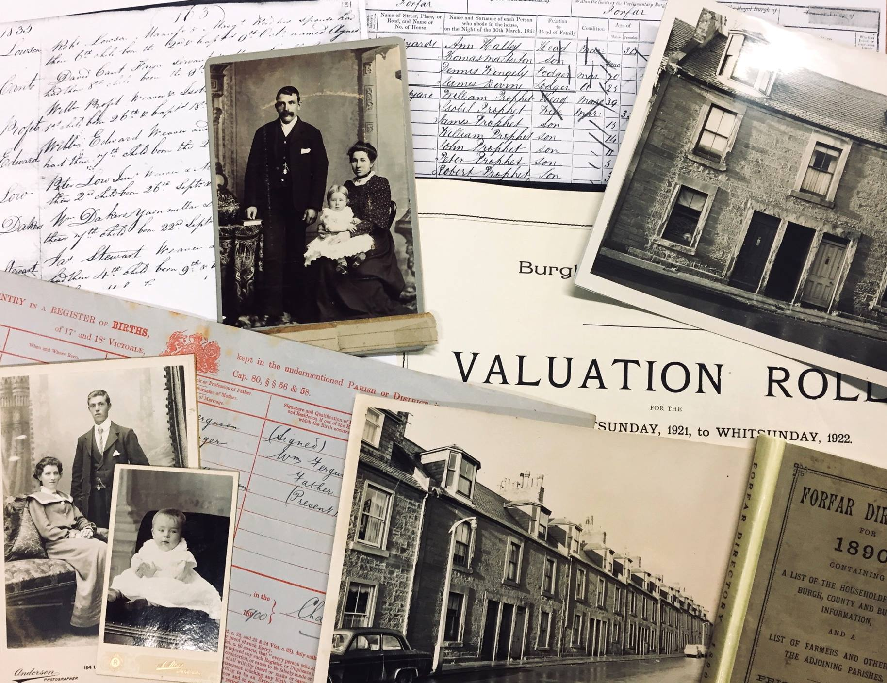 It's easy to trace your family history in Angus