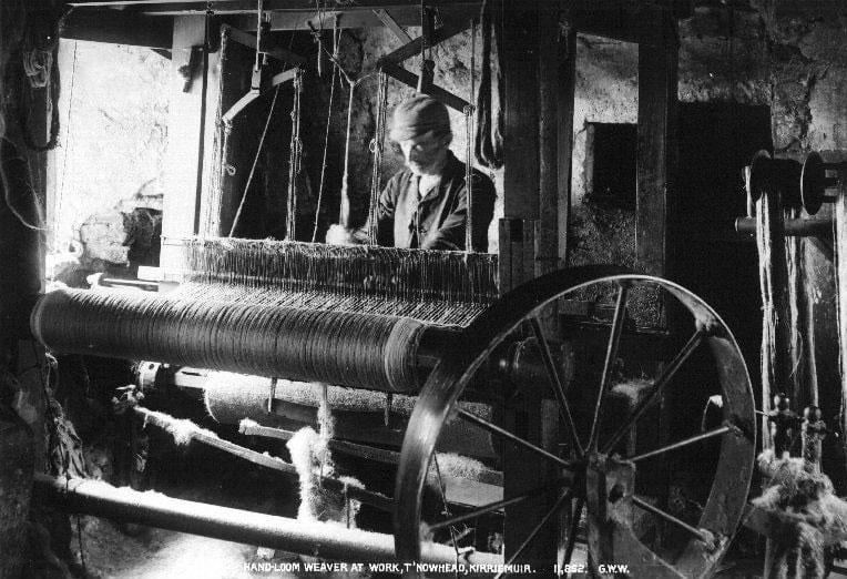 Handloomweaver,Kirriemuir,Angus,before