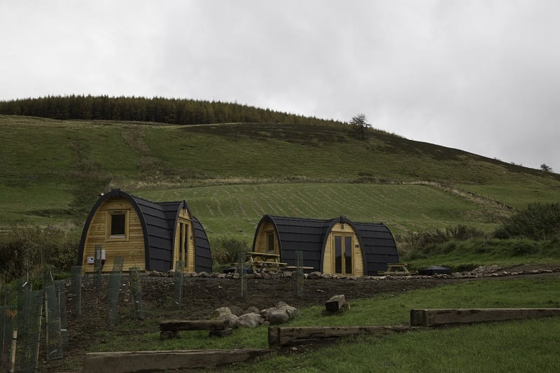 Kilry Eco Pods, Glen Isla