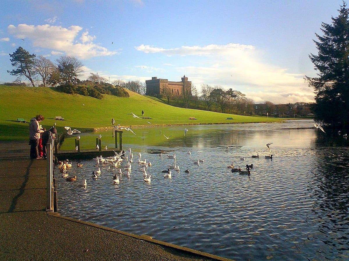Keptie Pond, Arbroath