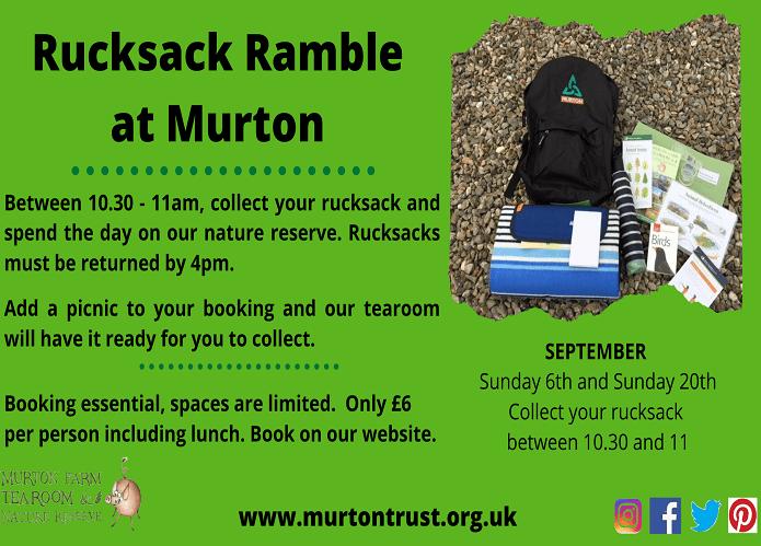 Murton Rucksack Ramble