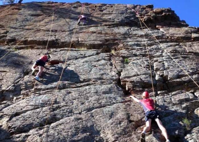 Rock Climbing, Angus