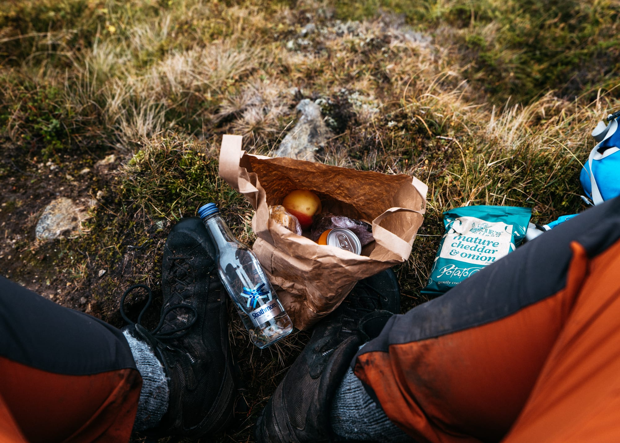 Picnic lunch at Loch Brandy