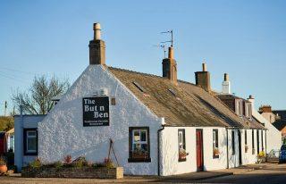 The But n Ben Restaurant, Auchmithie.