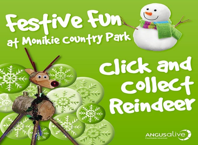 Monikie Click and Collect Reindeer
