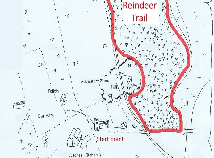 Monikie Reindeer Trail