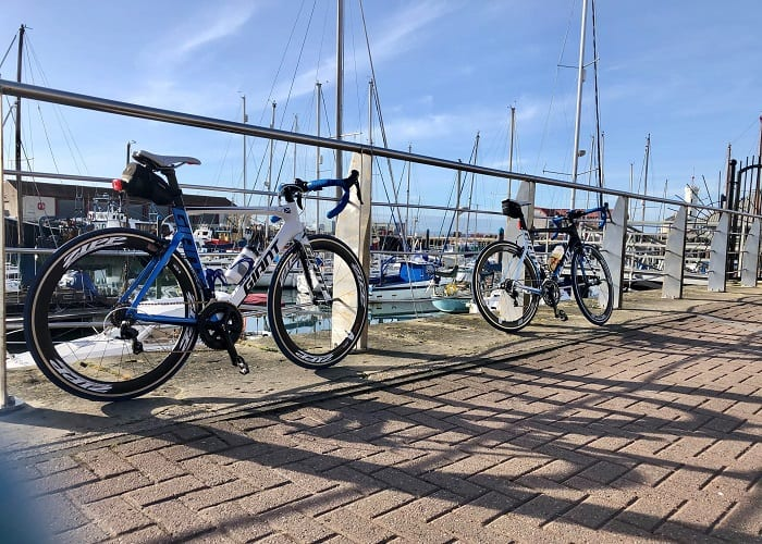 Bikes at Arbroath Harbour