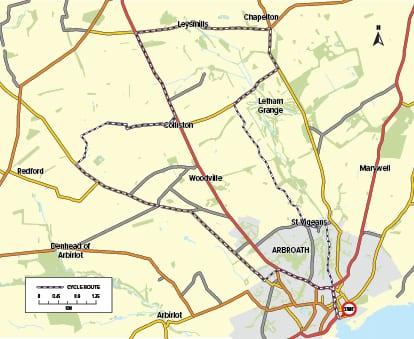 Cycle Route 06 - Circuit through Rural Angus