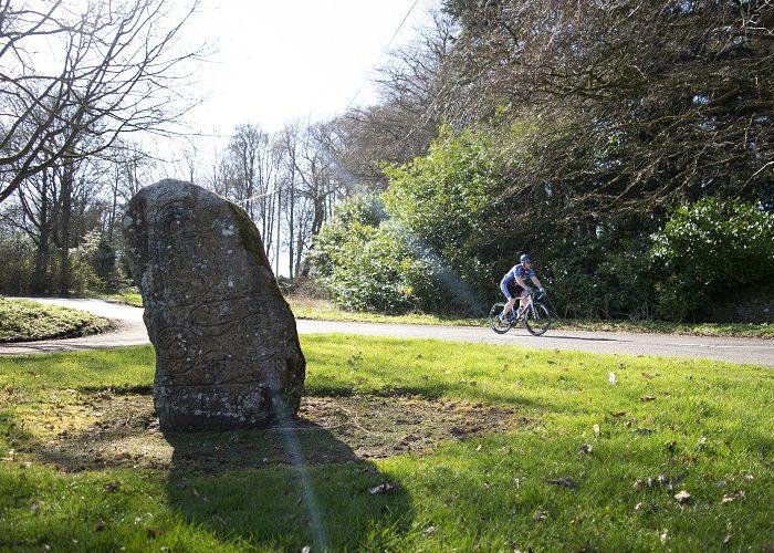 Cyclist at Dunnichen