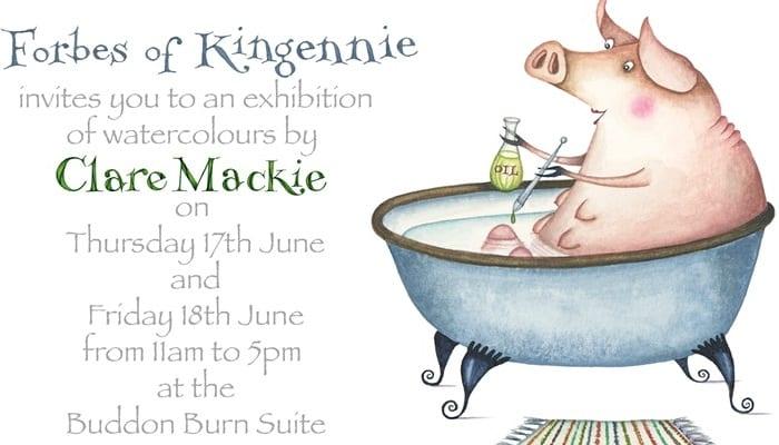 Clare Mackie at Kingennie
