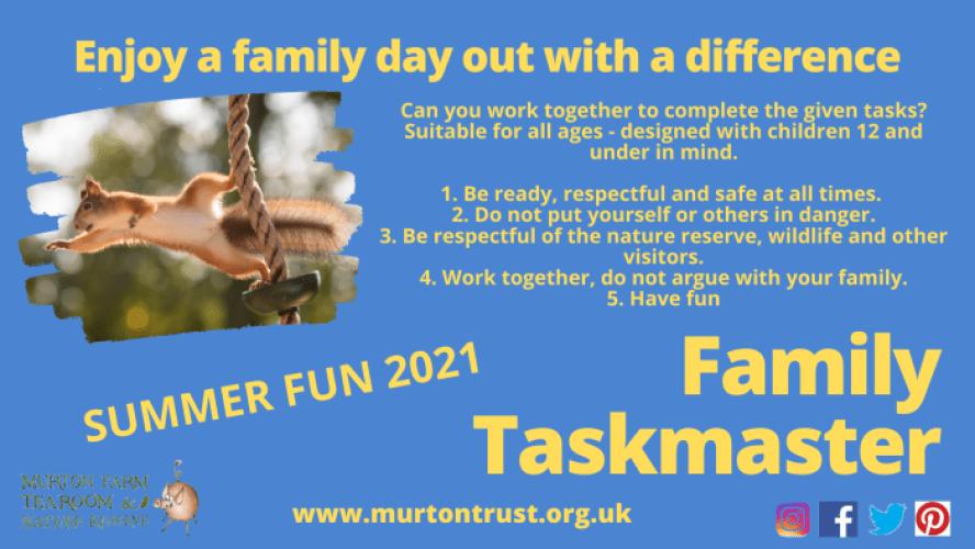 Murton Family Taskmaster 2021
